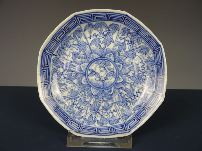 Saucer - Porcelain - China - 19th century