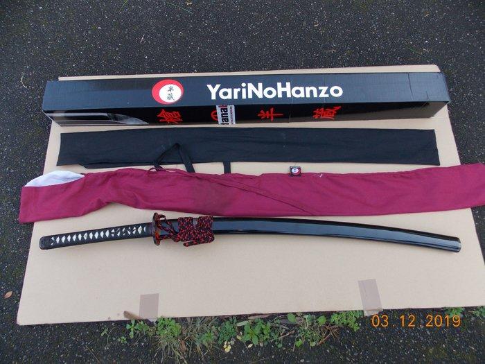 Japan - YariNoHanzo - NOBUNAGA KATANA AFILADA - Espada Japonesa Artesanal - Katana
