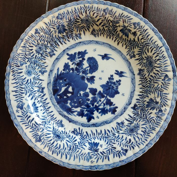 Plate - Blue and white - Porcelain - China - 17th century - Catawiki