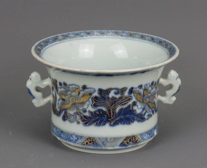 Mortar - Blue and white, Chinese export - Porcelain - China - Kangxi (1662-1722) - Catawiki