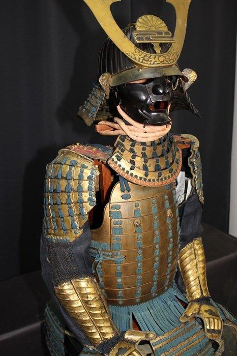 Yoroi - Gold, Iron black - Samurai - Japan - Edo Period (1600-1868)