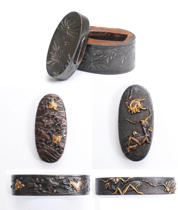 Fuchi - shakudo - Japan - Edo Period (1600-1868)