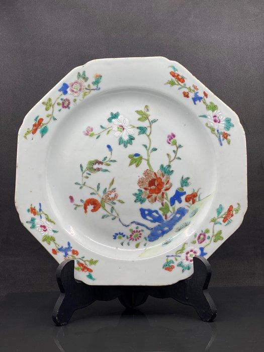 XVIIIth century porcelain plate - Porcelain - China - Qianlong (1736-1795)