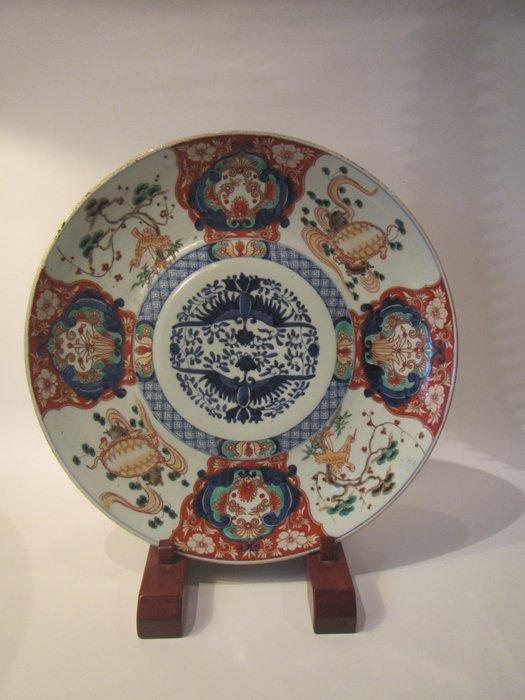 Load (46cm) - Imari - Porcelain - Japan - Meiji period (1868-1912)