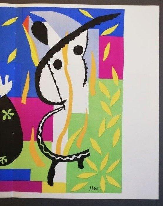 Henri Matisse La Tristesse Du Roi : henri, matisse, tristesse, Henri, Matisse, (after), Verve:, Tristesse, Catawiki