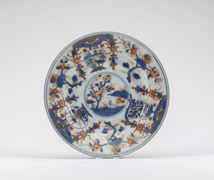 Plate (1) - Imari - Porcelain - Chinese Imari - China - Kangxi (1662-1722)