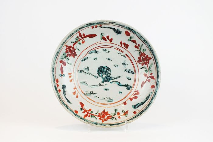 Dish - Porcelain - Swattow D-31,5 cm. - China - Ming Dynasty (1368-1644)