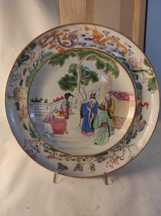 Dish (1) - Porcelain - China - Jiaqing (1796-1820)