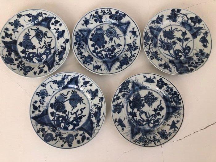 Plates - Porcelain - China - 18th century