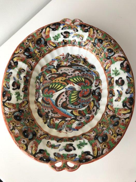 Shallow dish - Porcelain - China - 19th century