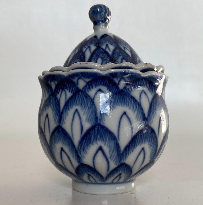 Very rare artichoke jar - Porcelain - China - Qing Dynasty (1644-1911)