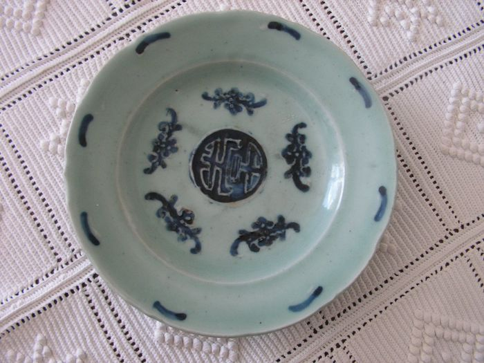 Plate (1) - Porcelain - China - 18th century