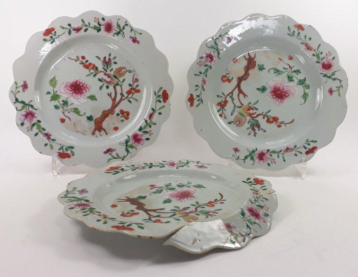Plates - Porcelain - China - Qianlong (1736-1795)