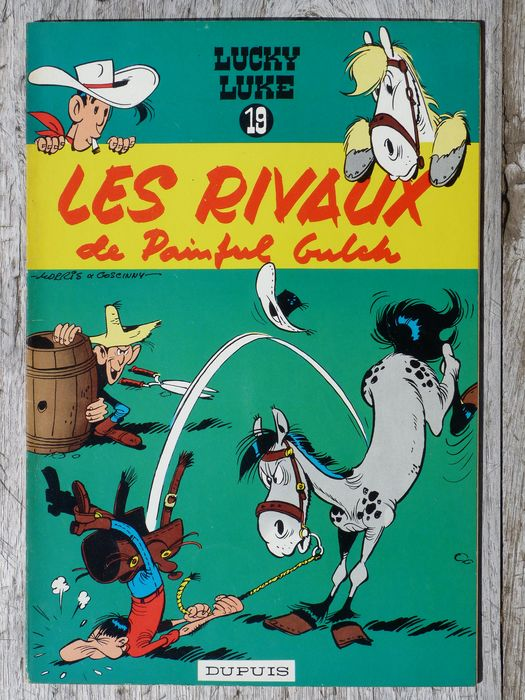 Les Rivaux De Painful Gulch : rivaux, painful, gulch, Lucky, Rivaux, Painful, Gulch, Primera, Catawiki