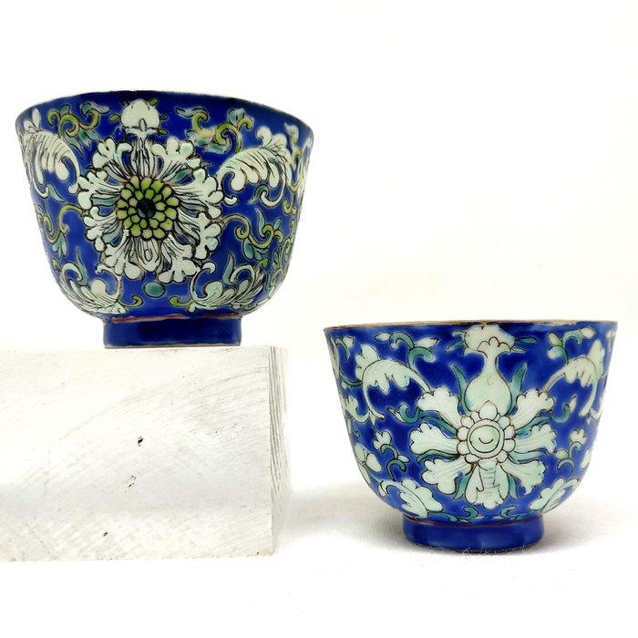 Wonderful Cups (2) - Porcelain - China - 19th century