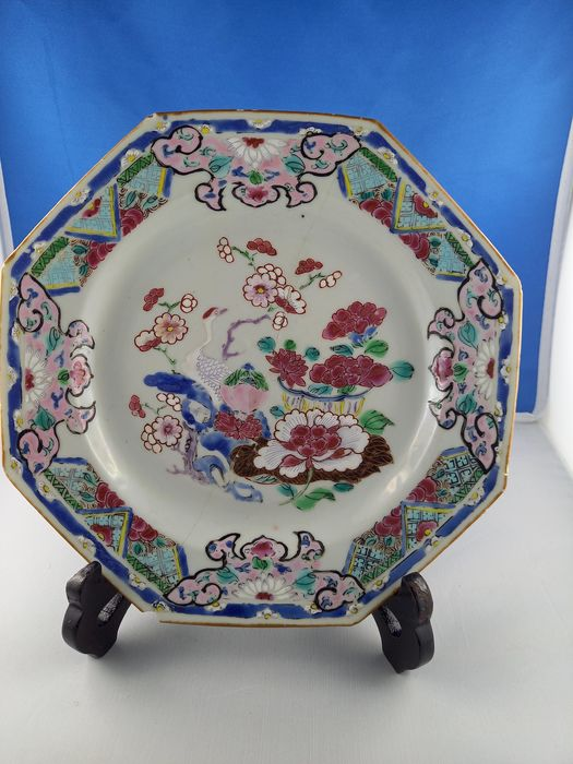 Dish (1) - Porcelain - China - 18th century