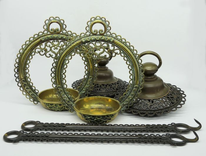 Rinto ( Buddhist hanging lanterns)2.4kg - Bronze - Japan - Meiji period (1868-1912)