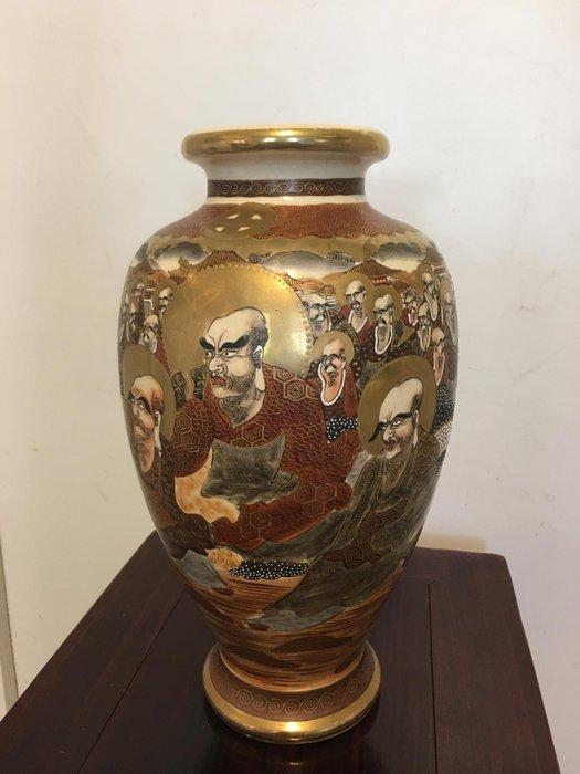 Vase (1) - Porcelain - Marked 'Shōzan' 昇山 - Japan - Meiji period (1868-1912)