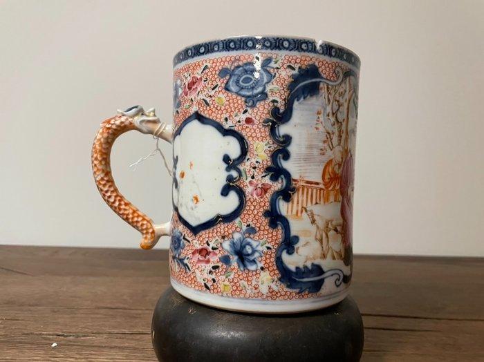 Tankard - Porcelain - China - Qianlong (1736-1795)