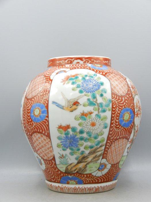 Vase marked 'Zōshuntei Sanpo zō' 蔵春亭三保造 - Arita - Porcelain - Japan - Meiji period (1868-1912)