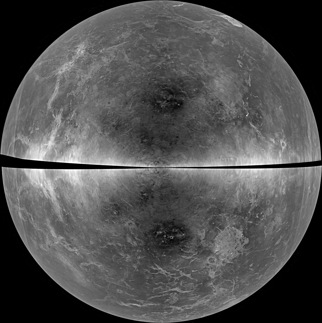 Venus Revealed In Highresolution Radar Images From Earth