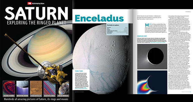 Saturn's Disc Shaped Moon Atlas Spotted By Cassini
