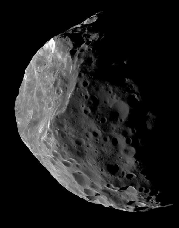 Saturn Moon Phoebe