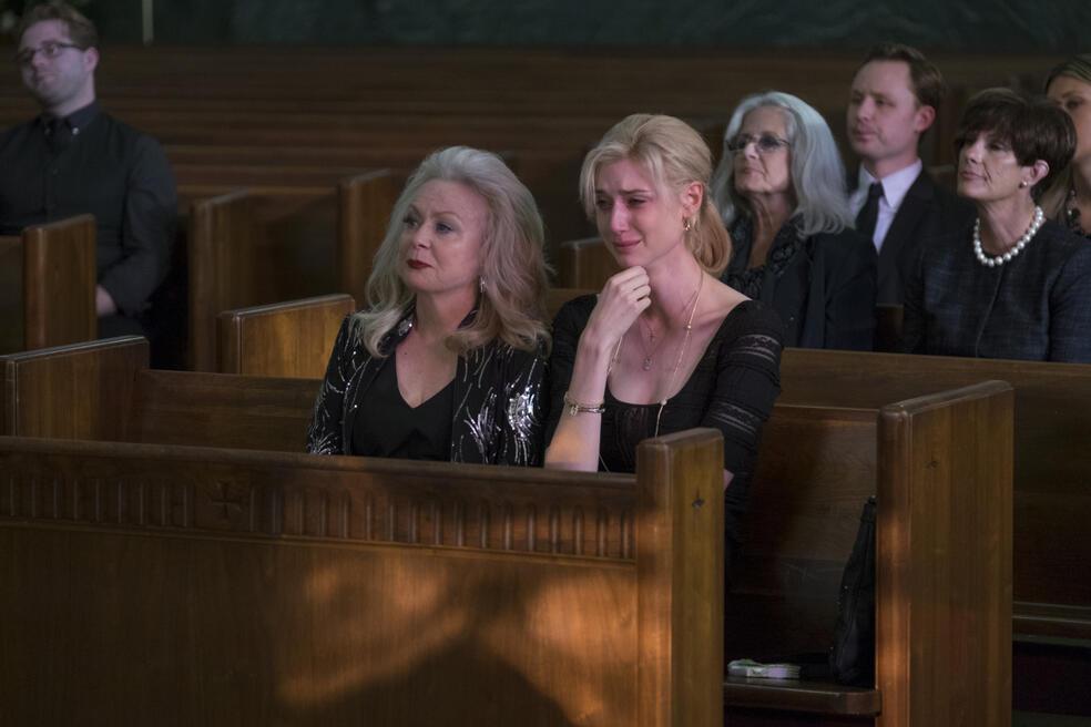 Widows mit Elizabeth Debicki