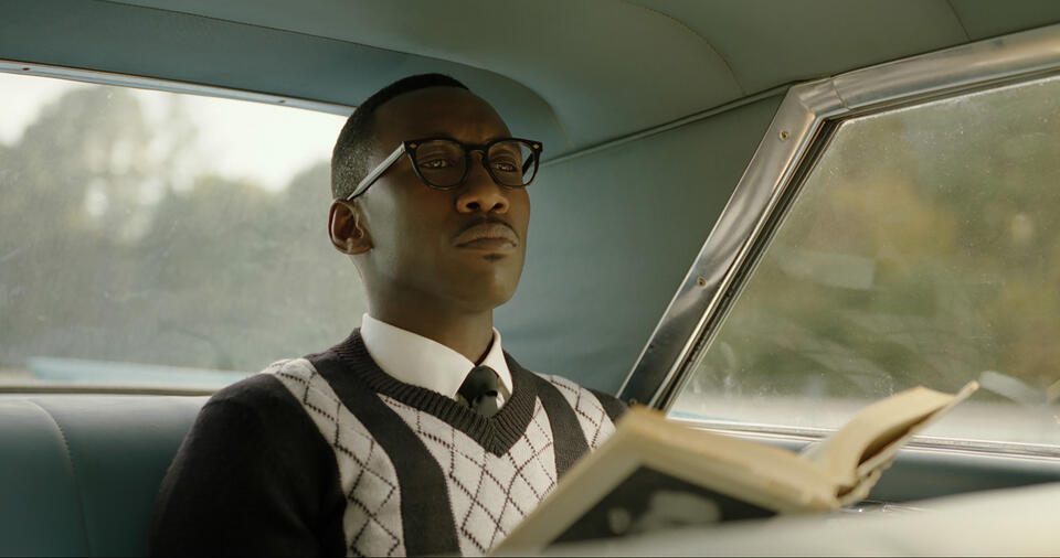 Green Book mit Mahershala Ali