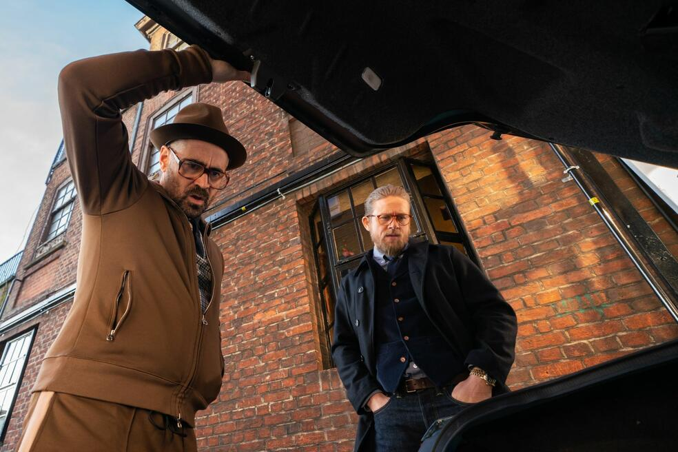 The Gentlemen mit Colin Farrell und Charlie Hunnam