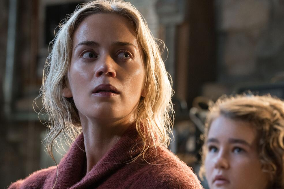A Quiet Place mit Emily Blunt und Millicent Simmonds