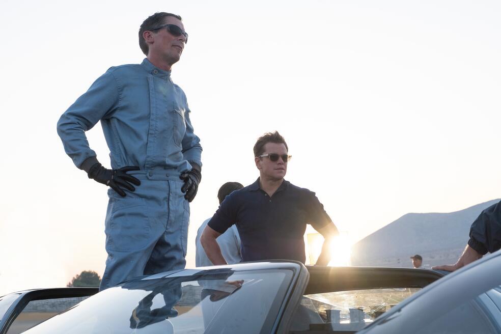 Le Mans 66 - Gegen jede Chance mit Christian Bale und Matt Damon