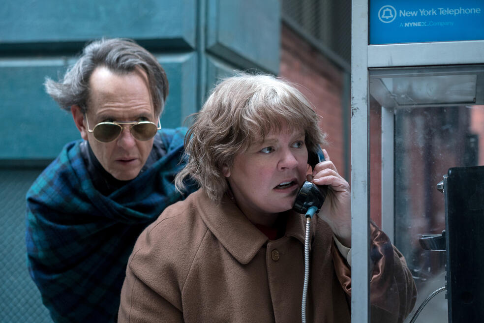 Can You Ever Forgive Me? mit Melissa McCarthy und Richard E. Grant