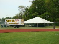 40x40 FRAME Tent | Y-BY Rental Center