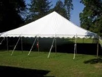 40X40 Pole Tent | Grand Rental of Greeneville, TN