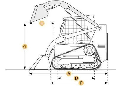 T190 Tracked Skid Steer Loader
