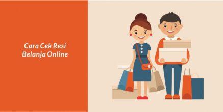 Ini Dia Cara Cek Resi Belanja Online