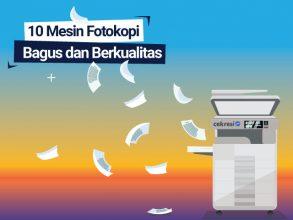 10 Mesin Fotokopi yang Bagus dan Berkualitas