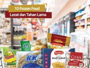 10 Frozen Food Lezat dan Tahan Lama