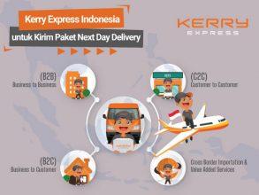 Kerry Express Indonesia untuk Kirim Paket Next Day Delivery