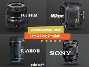 10 Lensa Kamera Terbaik untuk Foto Produk