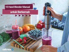 10 Rekomendasi Hand Blender Manual untuk Berkemah
