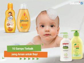 10 Sampo Terbaik yang Aman untuk Bayi