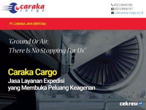 Caraka Cargo Jasa Layanan Expedisi yang Membuka Peluang Keagenan