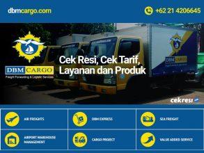 DBM Cargo: Cek Resi, Cek Tarif, Layanan dan Produk