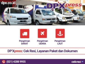 DP'Xpress: Cek Resi, Layanan Paket dan Dokumen