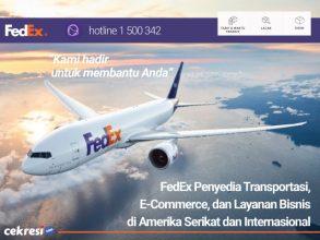 FedEx Penyedia Transportasi, E-Commerce, dan Layanan Bisnis di Amerika Serikat dan Internasional