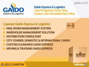 Gaido Express & Logistics: Jasa Pengiriman Antar Kota, Custom, dan Konsultasi Bea Cukai