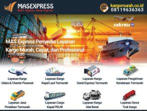 MAS Express Penyedia Layanan Kargo Murah, Cepat, dan Profesional