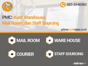 PMC: Kurir, Warehouse, Mail Room, dan Staff Sourcing